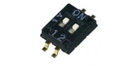 DIP Switch 2 Pin SMD