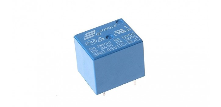 SONGLE SPDT Relay 5 VDC