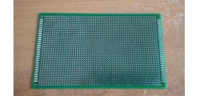 PCB Lubang IC Double Layer 9x15 Cm