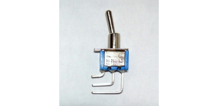 MTS-102C4 SPDT On-On Toggle Switch 3pin