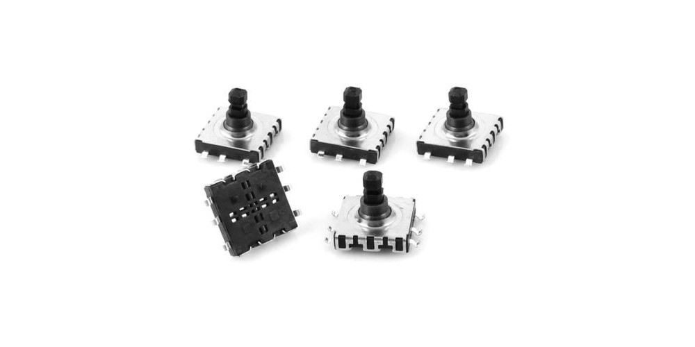 jual 10x10x9mm 6 pin 5 way momentary square smd smt