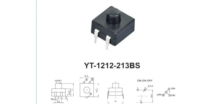 213BS Self-locking Switch Button