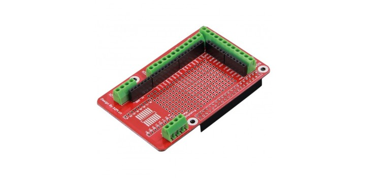 Prototyping Shield for Raspberry Pi 3/ Pi 2/ Model B+