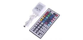 RGB LED Light Control Box with IR 44-Key Remote Control