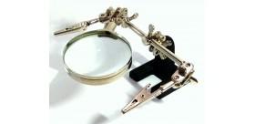 Helping Hand Magnifier JM 501 Alat Pegangan Solder