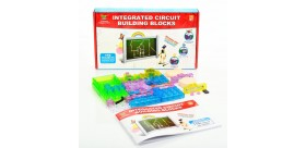 Integrated Circuit Building Blocks 115 Projects Electronic Playground Educational Toy Plastic Model Kits