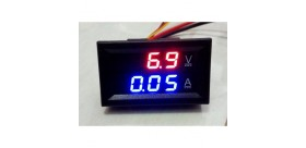DC0-100V / 10A LED DC dual-display digital Voltmeter Amperemeter
