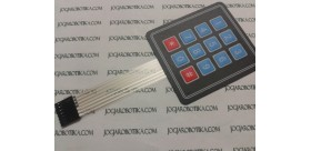 3x4 matrix keypad membran