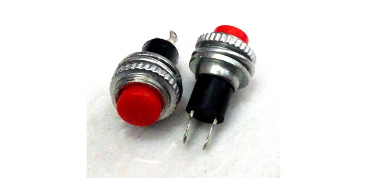 Push Button DS-314 10mm-Red