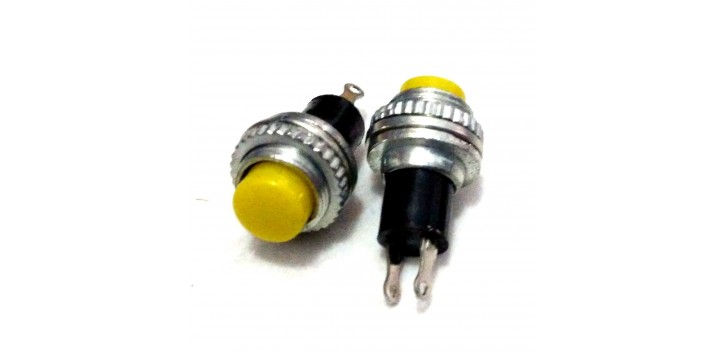 Push Button DS-314 10mm-Yellow