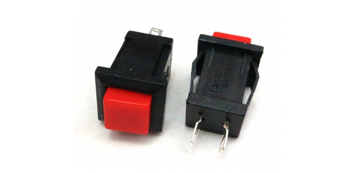 PUSH BUTTON DS-431 Red