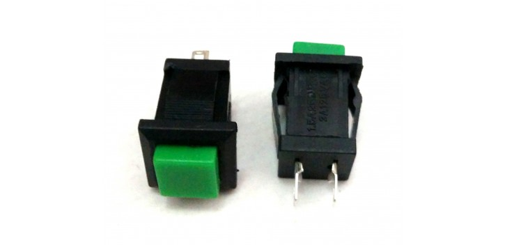 PUSH BUTTON DS-431 Green