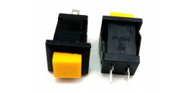 PUSH BUTTON DS-431 Yellow