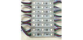 Waterproof SMD 5050 LED module RGB 3LED