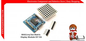 MAX7219 Dot Matrix Display Module DIY Kit