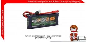 Jual Turnigy nano-tech 950mah 1S 25~50C Lipo Pack (Walkera V120, X100)