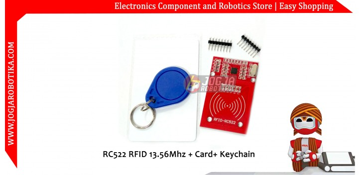 RC522 RFID Module Kit Red Color