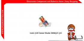 1206 SMD 1/2W Zener Diode ZMM5V1 5V1