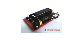 Sistem Minimum DIP-40 & Serial RS232 DB9