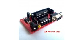 Sistem Minimum DIP-28 & Serial RS232 DB9