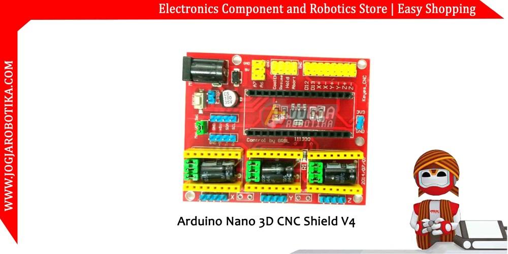 jual Arduino Nano 3D CNC Shield V4