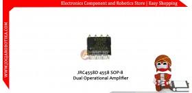 JRC4558D 4558 SOP-8 Dual Operational Amplifier