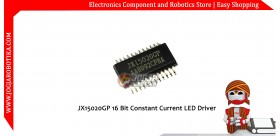 JX15020GP 16 Bit Constant Current LED Driver