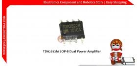 TDA2822M SOP-8 SMD Dual Power Amplifier