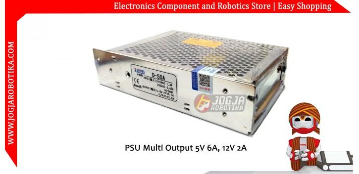 PSU Dual Output 5V 6A + 12V 2A