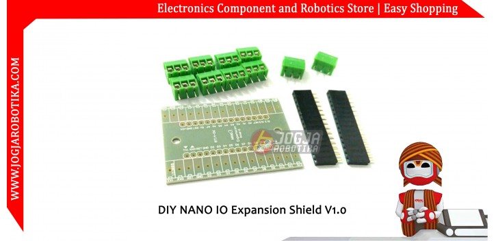 DIY NANO IO Expansion Shield V1.0