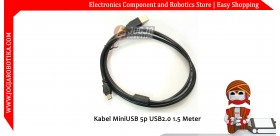 Kabel Mini USB 5p USB2.0 1.5 Meter