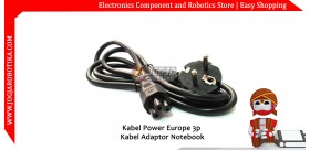 Kabel Power Europe 3p Kabel Adaptor Notebook