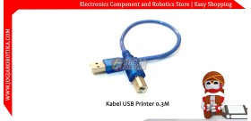 Kabel USB Printer 0.3 Meter