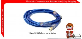 Kabel USB Printer 2.0 3 Meter