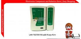 LAN TESTER NS-468 RJ45+RJ11