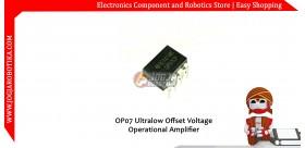 OP07 Ultralow Offset Voltage Operational Amplifier