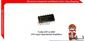 TL084 SOP-14 SMD JFET-Input Operational Amplifier