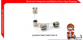 5x20mm Glass Tube Fuse 1A 250V
