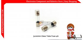 5x20mm Glass Tube Fuse 4A 250V