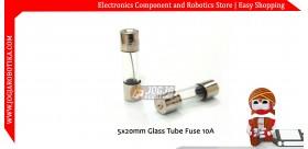 5x20mm Glass Tube Fuse 10A 250V