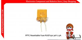 PPTC Resettable Fuse RUEF250 30V 2.5A