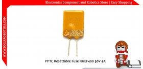 PPTC Resettable Fuse RUEF400 30V 4A