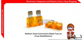 Medium Sized Automotive Blade Fuse 5A