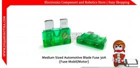Medium Sized Automotive Blade Fuse 30A