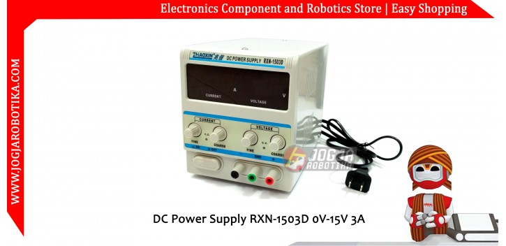 DC Power Supply RXN-1503D 0V-15V 3A