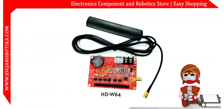 HD-W64 WIFI & U disk LED Controller