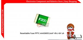 Resettable Fuse PPTC miniSMDC200F 1812 16V 2A