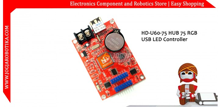 HD-U60-75 HUB 75 RGB USB LED Controller