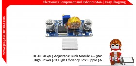 DC-DC XL4015 Adjustable Step Down Buck Module 4 ~ 38V 5A