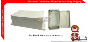 Box Plastik Waterproof 200x120x75mm